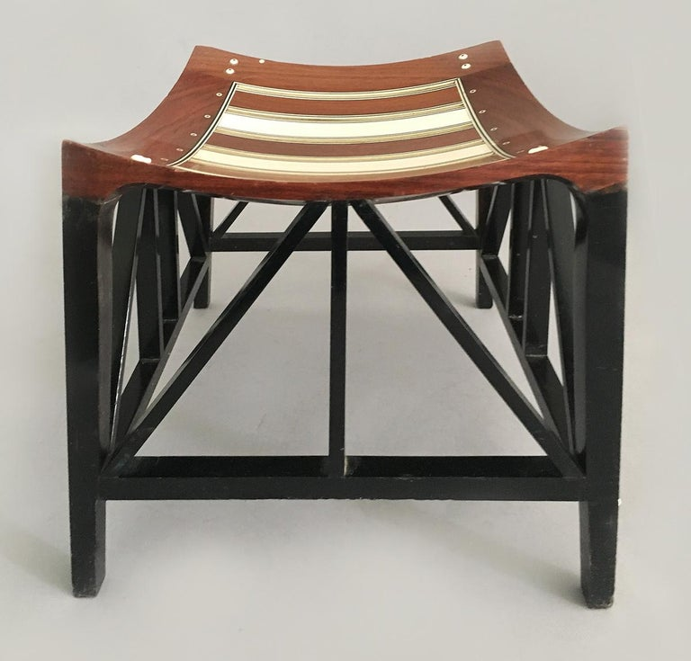 English Liberty & Co, London Thebes Footstool For Sale