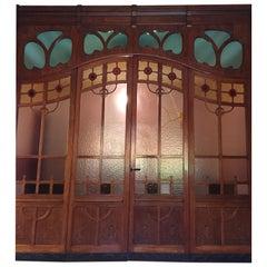 Liberty Glass Door with Oak Frame