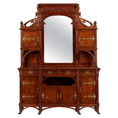 Liberty Italian Carved and Gilt-Metal Mounted Sideboard Cabinet