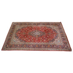 Liberty London Tabriz Garden Floral Rug Large Fine Hand Knotted