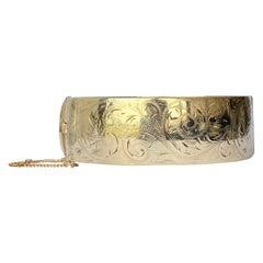 Liberty of London 9 Carat Gold Metal Core Bangle