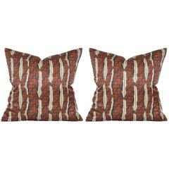 Liberty of London Silk Cushion Pillow with Pure Irish Linen Back
