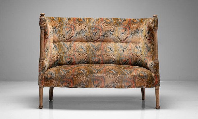 English Liberty of London Sofa, England, circa 1890 For Sale