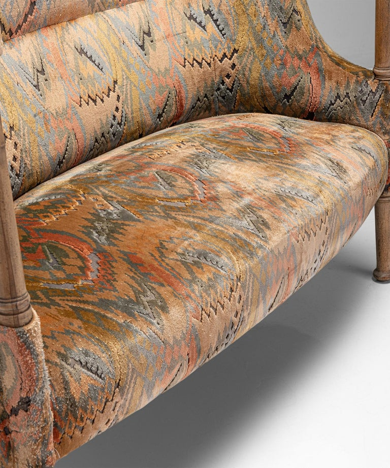 Liberty of London Sofa, England, circa 1890 In Good Condition For Sale In Culver City, CA