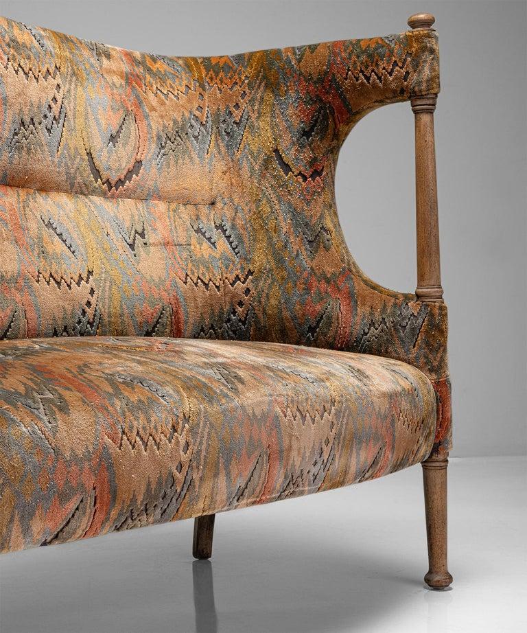 Late 19th Century Liberty of London Sofa, England, circa 1890 For Sale