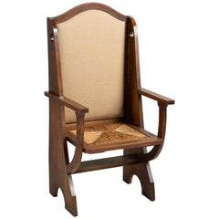 Liberty's Oak Armchair by Leonard Wyburn