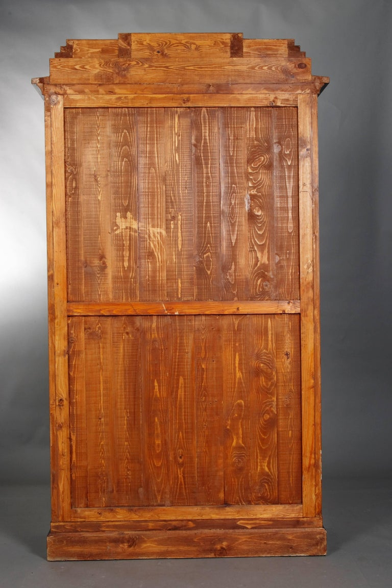 Library/Display Cabinet in Biedermeier Style For Sale 3