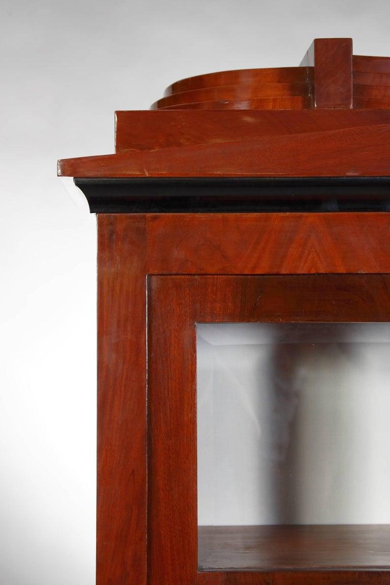Library/Display Cabinet in Biedermeier Style In Good Condition For Sale In Berlin, DE