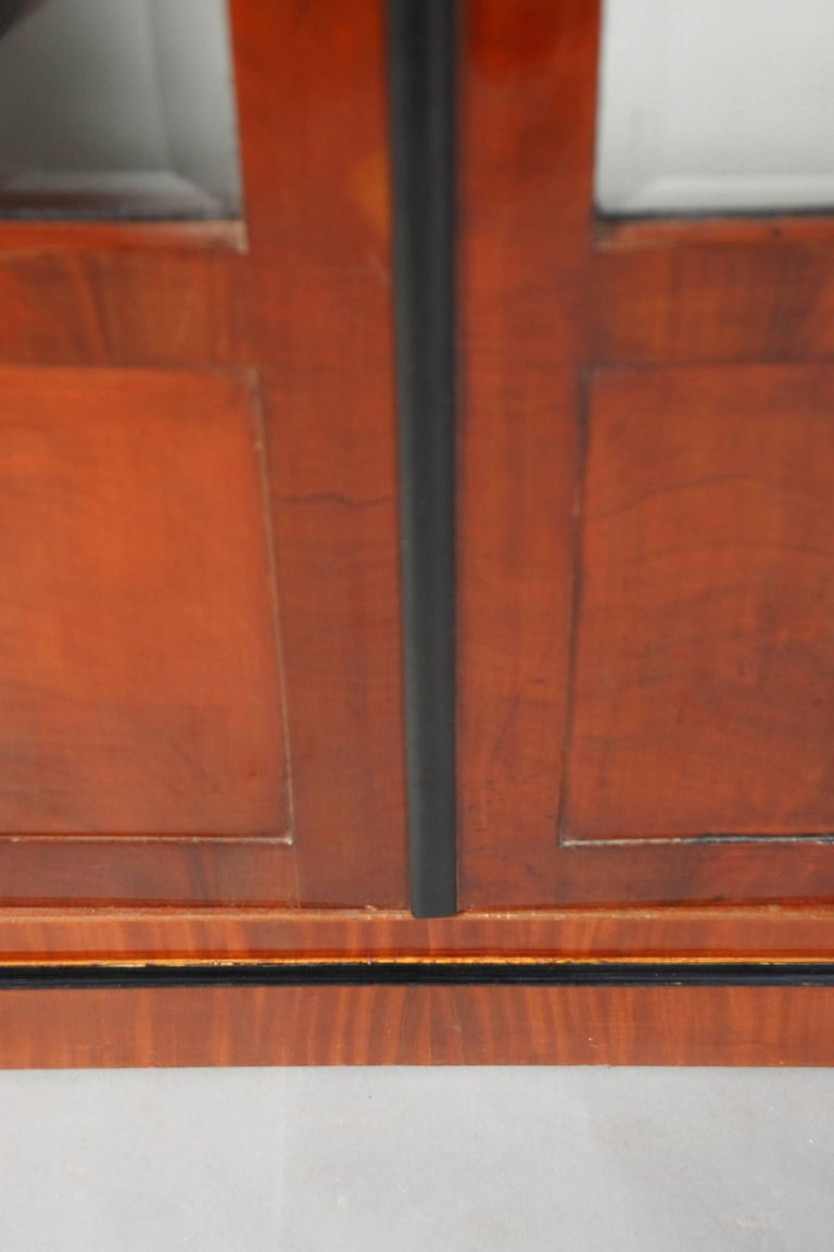 Library/Display Cabinet in Biedermeier Style For Sale 1