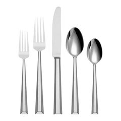 Library Lane by Kate Spade NY Stainless Steel Flatware Set Service 6 New 30 Pcs