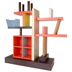 Libreria Liana Bookshelf, Ettore Sottsass, Meccani, 1993, Limited Edition of 10