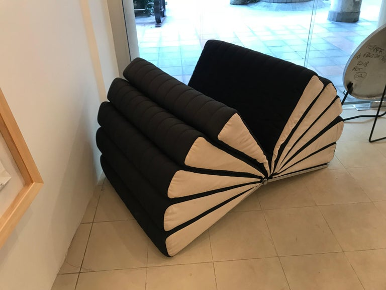 Exceptional and extremely rare Libro armchair