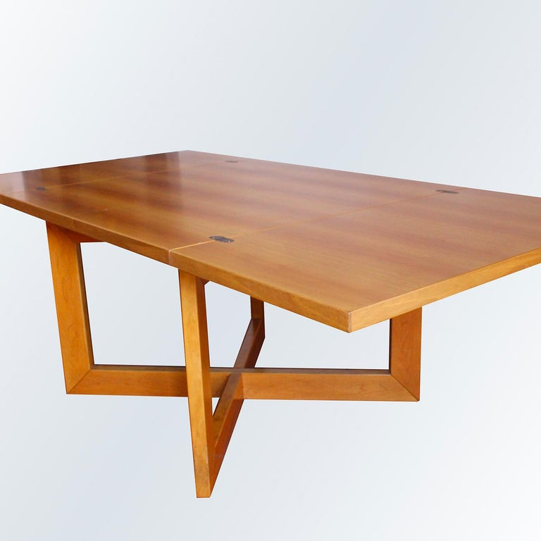 Modern Libro Extendable Dining Table For Sale