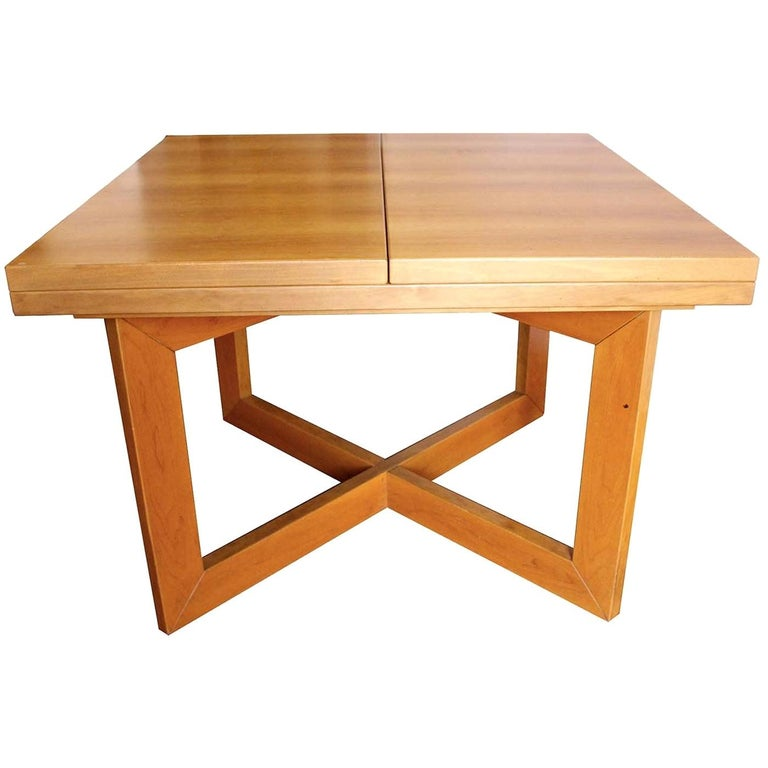 Libro Extendable Dining Table For Sale