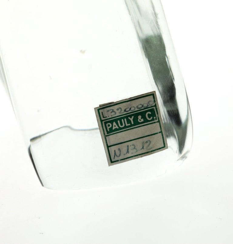 Licio Zanetti for Pauly Ibex Leaping Balsamo Stella Design, Murano 1990s, Signed For Sale 10