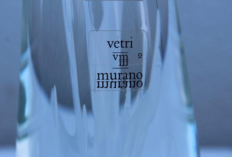 Murano Glass Licio Zanetti Glass Murano Sculpture For Sale