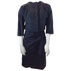 Lida Baday Black Two Piece Dress Set