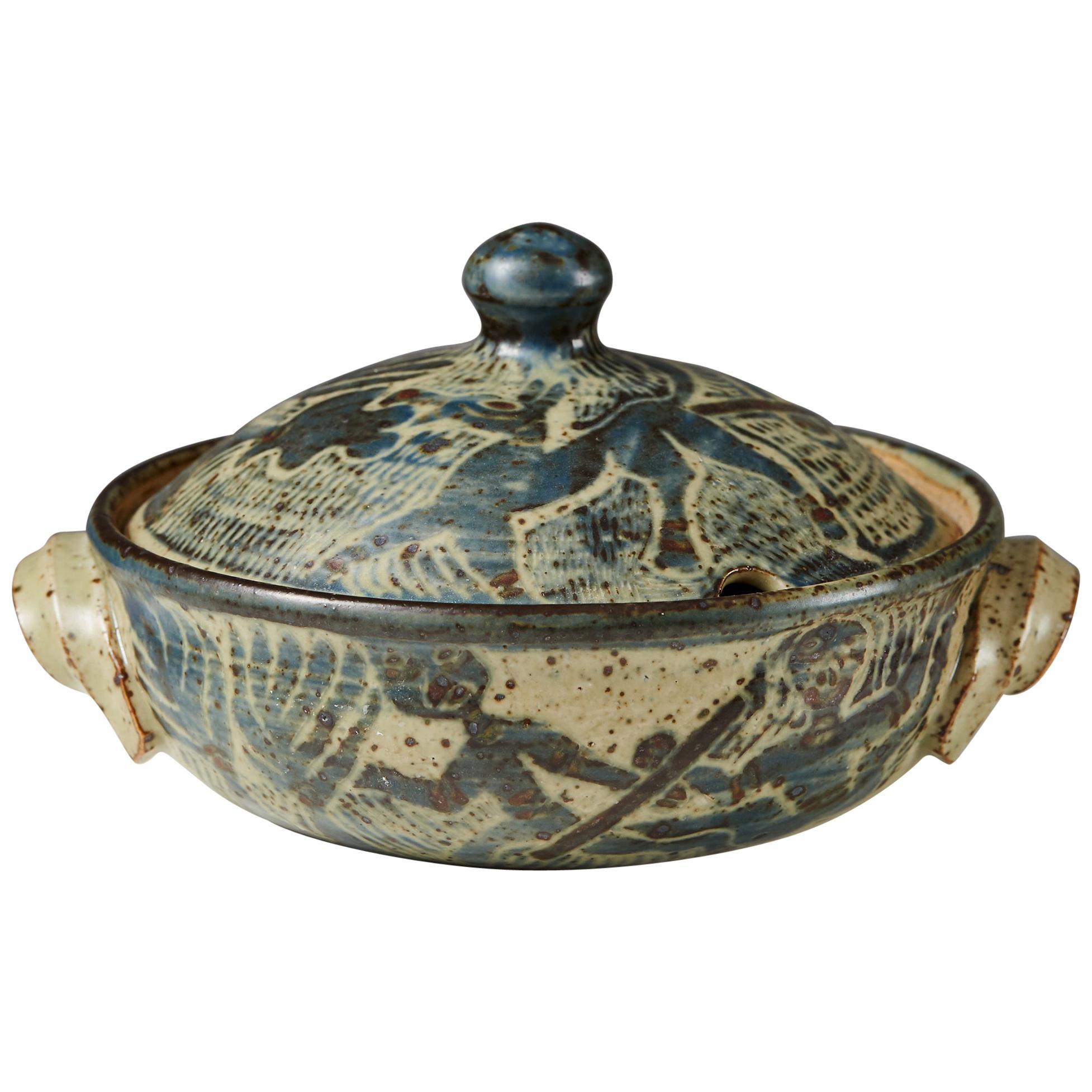 Lidded Bowl Designed by Niels Refsgaard, Denmark, 1960s-1970s
