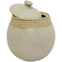 Lidded Ceramic Jar by Barbara Moorefield