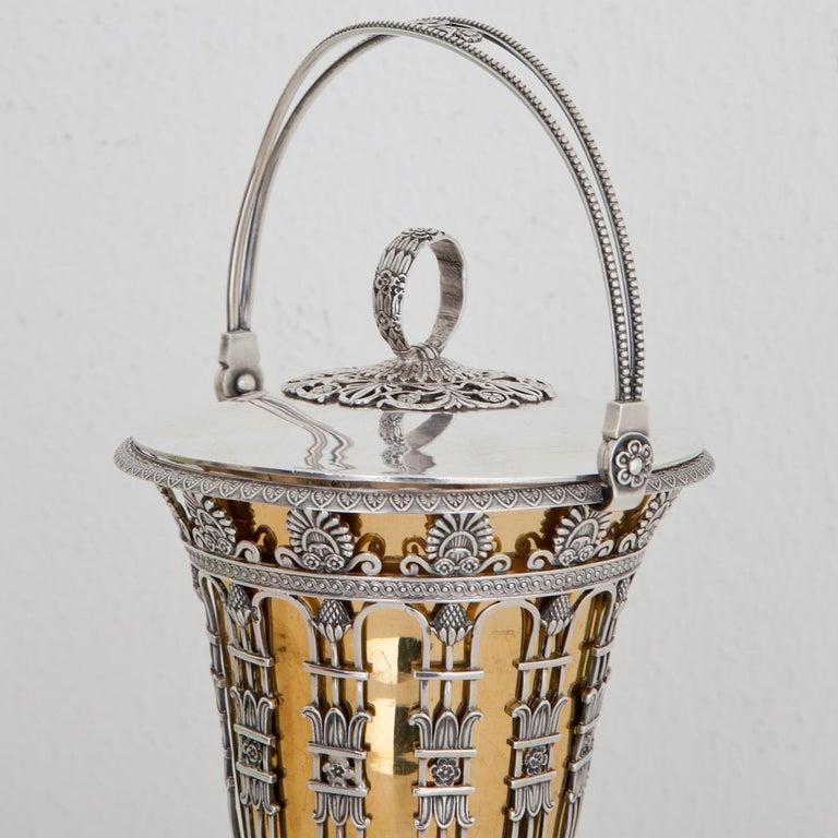 Lidern Vase, Frankreich 1. Viertel des 19. Jahrhunderts 2