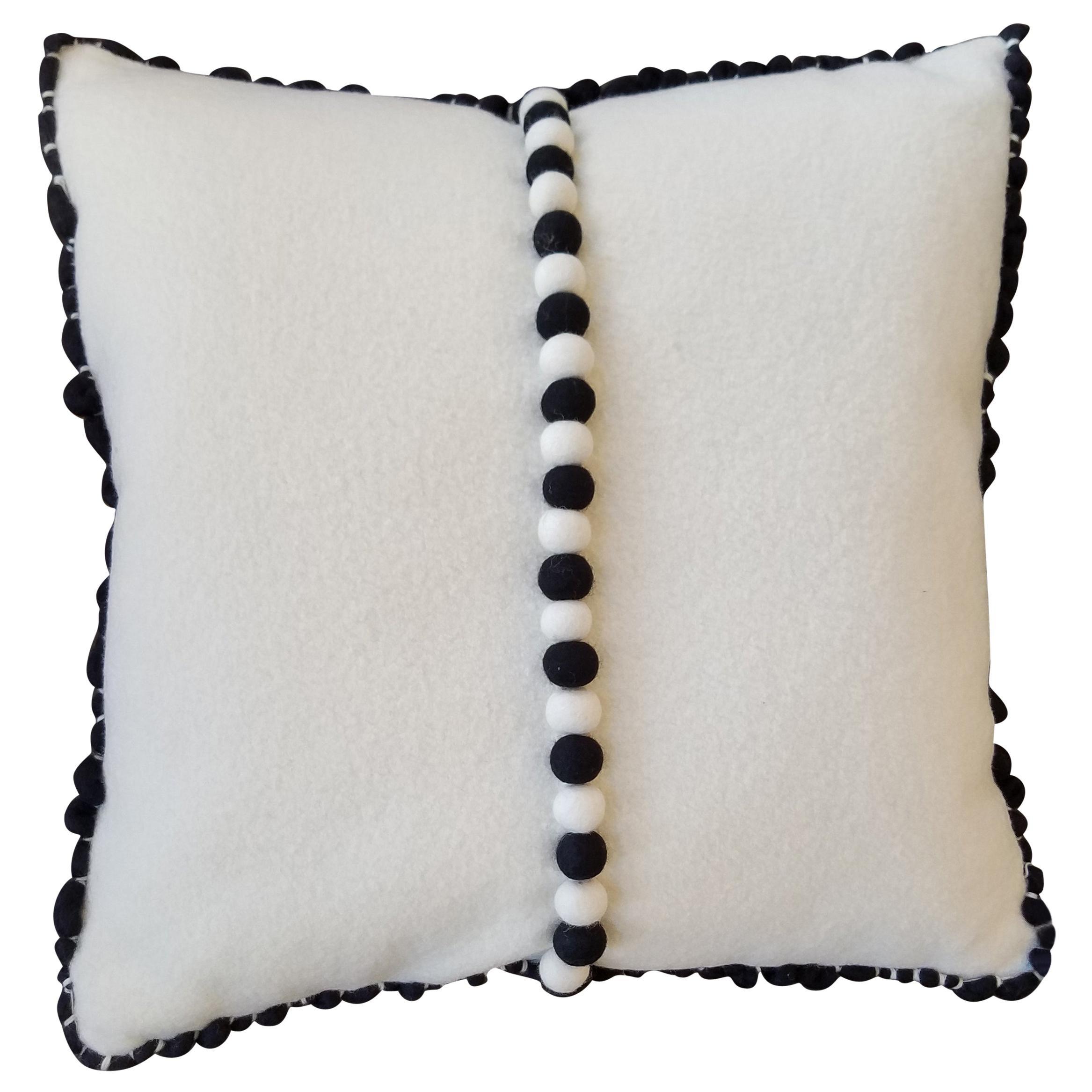 """Lido III"" Merino Wool Pillow by Le Lampade"
