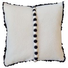 """Lido III"" Merino Wool Pillow by Le Lampade"