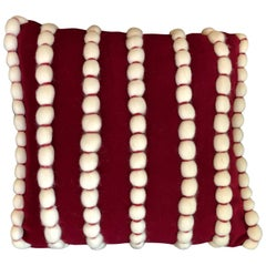 """Lido"" Wool Pillow by Le Lampade"