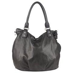 Liebeskind Berlin Black Soft Leather Tote Shoulder Bag
