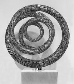 Lunar - 21st Century, Contemporary, Abstract Sculpture, Stainless Steel