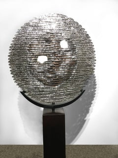 Solar Eclipse - 21st Century, Contemporary, Abstract Sculpture, Stainless Steel