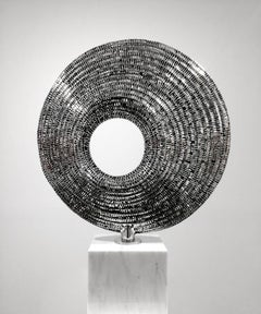 Solstice - 21st Century, Contemporary, Abstract Sculpture, Stainless Steel