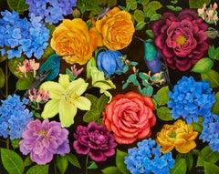 Queen's Garden, 2020. Oil on canvas, 120 x 150 cm