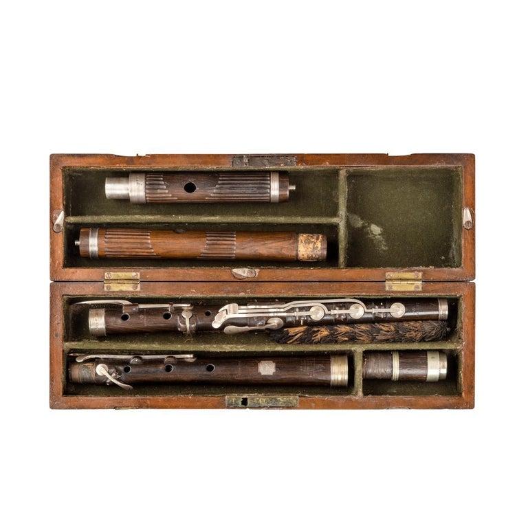 Lieutenant Rabett's Seagoing Silver Flute, 1823 For Sale 2