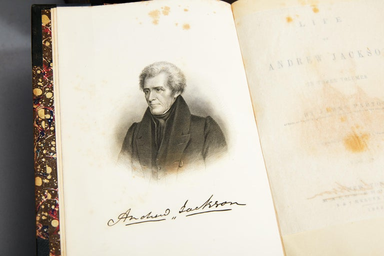19th Century James Parton, Life of Andrew Jackson For Sale