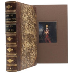 Life of George Washington by Jared Sparks, Period Binding, Later Printing, 1843