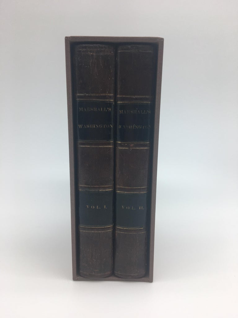 The Life of George Washington by John Marshall, two volume set, second edition, 1836