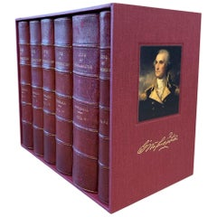 Life of George Washington by John Marshall, 6-Vol with Maps, 1st Ed., 1804-1807