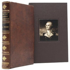 """Life of George Washington"" by M. L. Weems, in Period Binding, 1832"