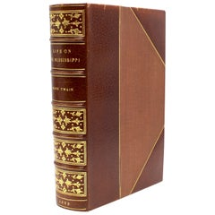 """Life on the Mississippi"" by Mark Twain, First Edition, Later State, 1883"