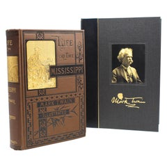"""Life on the Mississippi"" by Mark Twain, First Edition, 1883"
