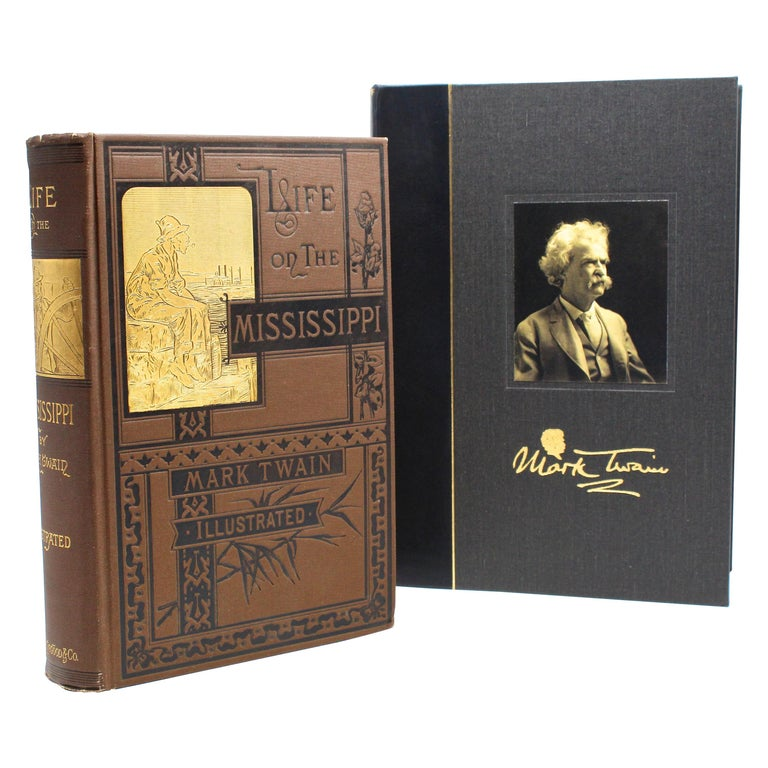 """Life on the Mississippi"" by Mark Twain, First Edition, 1883 For Sale"