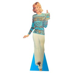 Life-size advertising stand-up from the cult brand 4711 Eau de Cologne, 1970s