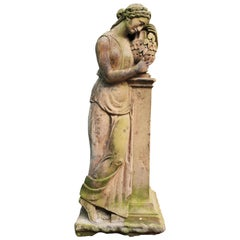 Life-Size Antique Classical Stone Statue