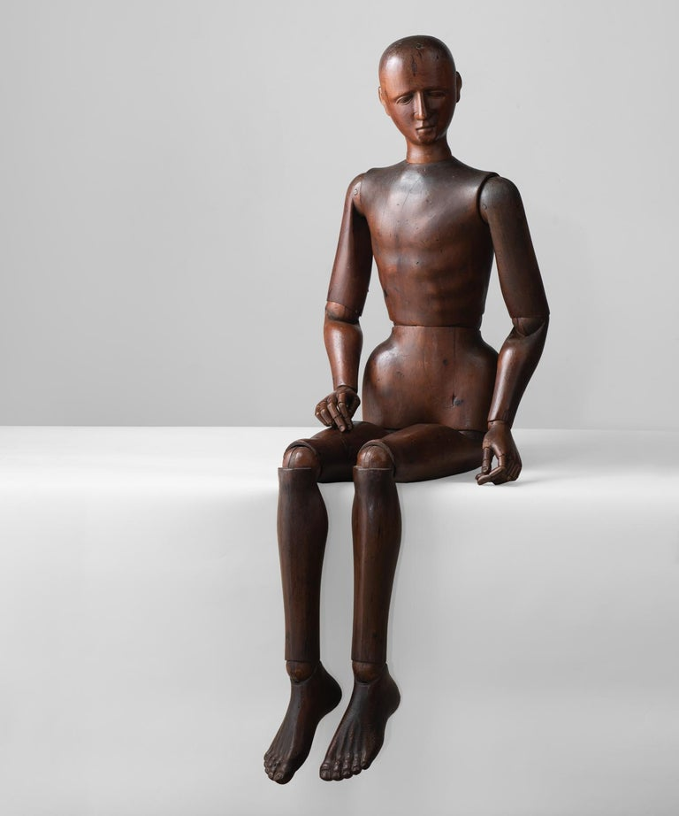 19th Century Life-Size Artist Mannequin, Italy, circa 1890 For Sale