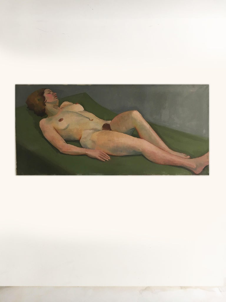 Other Life Size Female Painting, Vienna 1933 For Sale