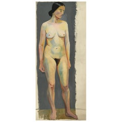 Life Size Female Painting, Vienna 1933