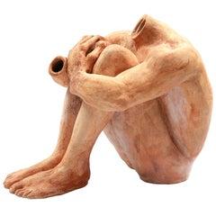Massive Figural Ceramic Sculpture