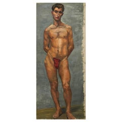 Life-Size Male Painting, Vienna, 1933
