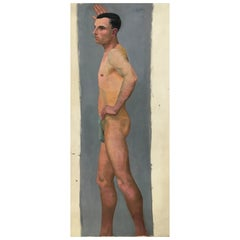 Life Size Male Painting, Vienna 1933