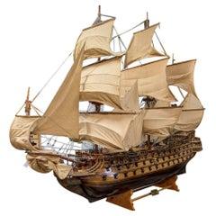Life-Size Model Tall Ship of the San Felipe